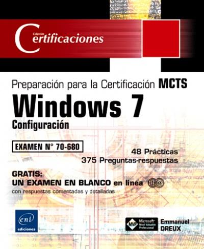 """Imagen - """"Windows 7- Configuración - Preparación para el examen MCTS 70-680"""""""