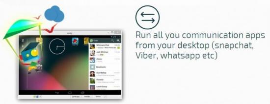 Imagen - Utiliza WhatsApp y otras apps de Android en el ordenador