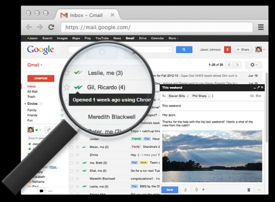 Imagen - Cómo saber si han leído un email de Gmail