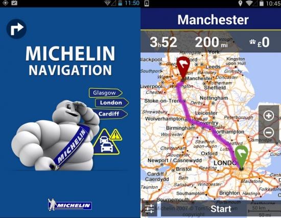 Imagen - Michelin Navigation, todo lo que un conductor necesita en la pantalla de un smartphone