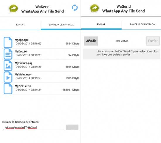 Imagen - Cómo enviar por WhatsApp archivos de hasta 150MB con WaSend