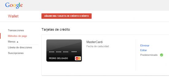 Imagen - Cambiar método de pago en Google Play