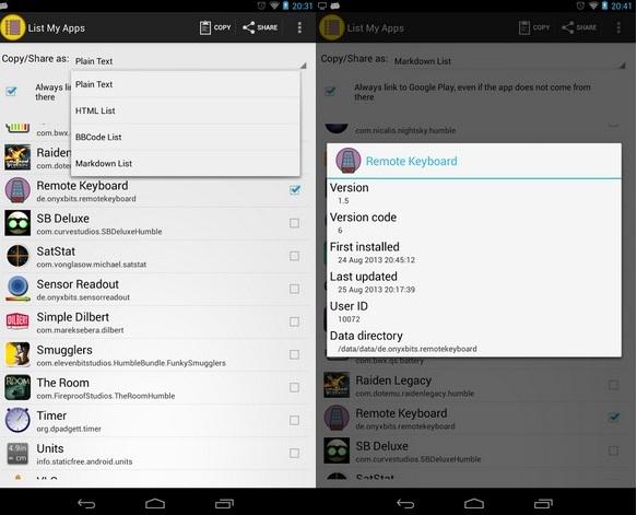 Imagen - Cómo guardar una lista de apps instaladas en Android