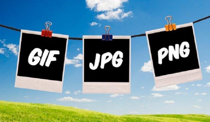 Diferencias entre JPG, PNG, y GIF