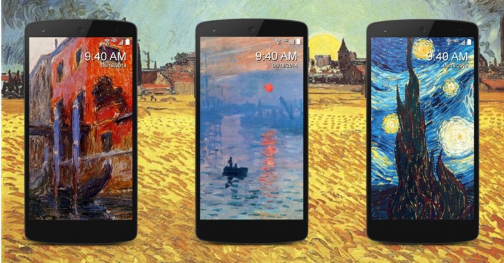 Muse Art Lock Screen: arte en tu pantalla de bloqueo