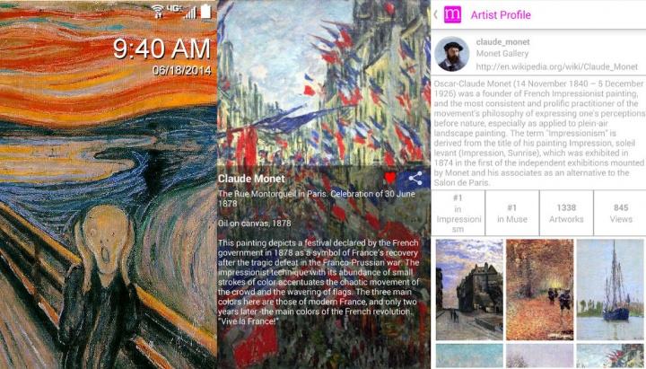 Imagen - Muse Art Lock Screen: arte en tu pantalla de bloqueo