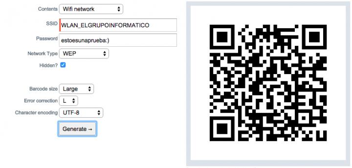 Imagen - Conéctate a tu red WiFi mediante un código QR