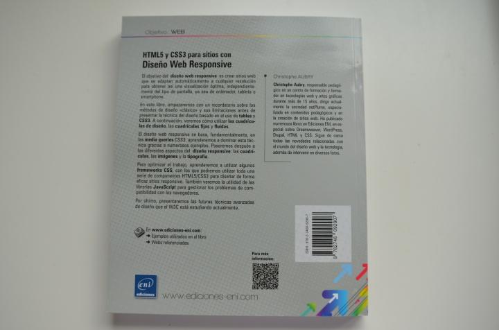 """Imagen - """"HTML5 y CSS3 para sitios con Diseño Web Responsive"""""""