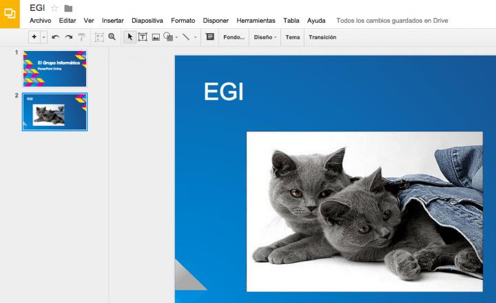 Imagen - Cómo crear un PowerPoint online con Google Drive