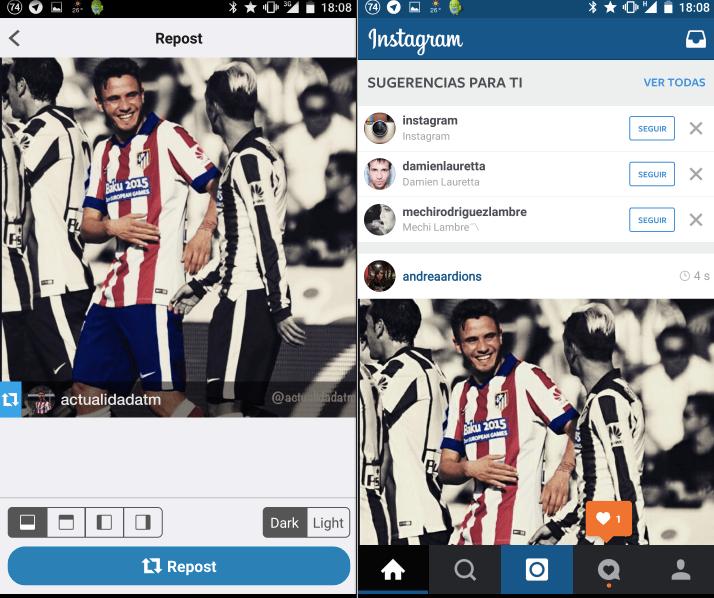 Imagen - Cómo hacer Repost en Instagram