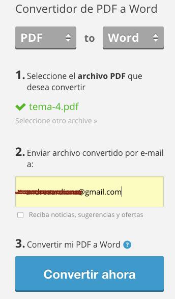 Imagen - Convierte de PDF a Word online