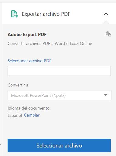 convertidor de pdf a powerpoint