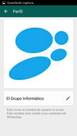 Imagen - Cómo personalizar nuestro nombre en los grupos de WhatsApp