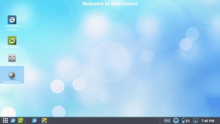 Convierte un Android en un escritorio como el de Windows