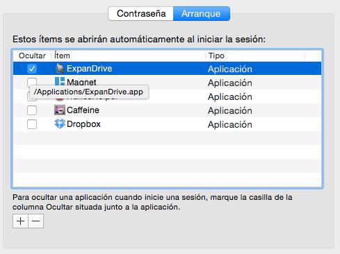 Imagen - Configurar aplicaciones del inicio en Mac OS X