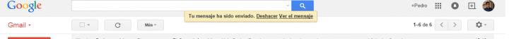 Imagen - Cómo cancelar el envío de un correo en Gmail