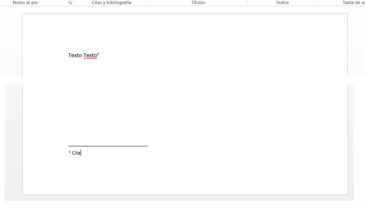 Imagen - Cómo insertar bibliografía y notas al pie en Word