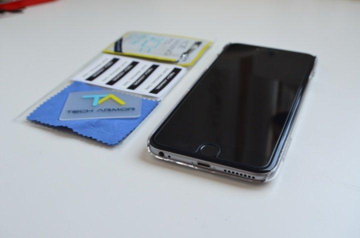 Imagen - Review: protector Tech Armor HD Ballistic Glass para iPhone 6 Plus, protección antibalas