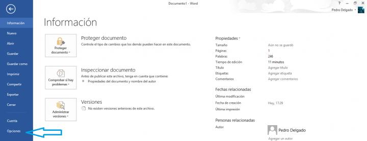 Imagen - Cómo abrir un nuevo documento en blanco por defecto en Word