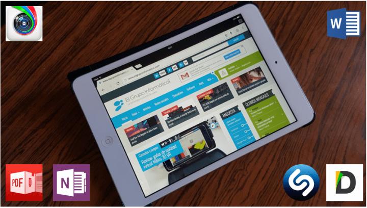 10 mejores apps gratis para iPad