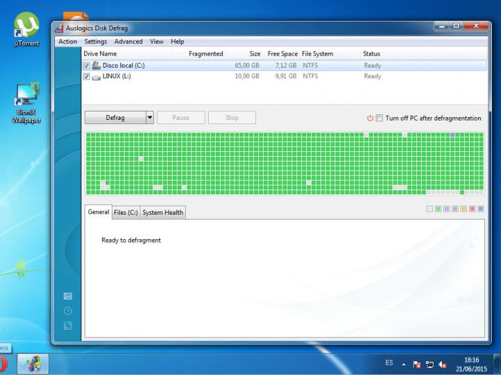 Imagen - Cómo desfragmentar el disco duro en Windows