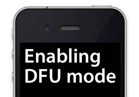 Imagen - Cómo poner el iPhone en modo DFU