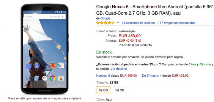 Imagen - Cómo comprar el Nexus 6 más barato
