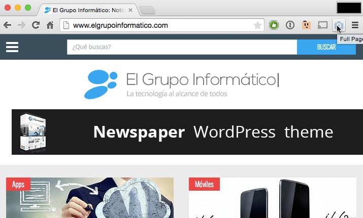 Imagen - Cómo imprimir una página web completa