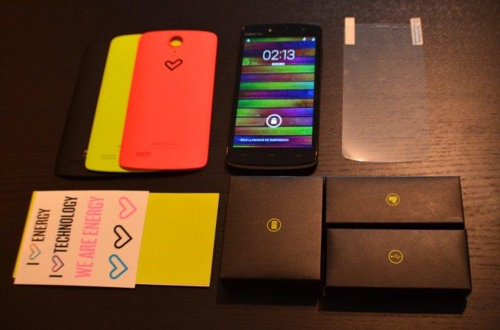 Imagen - Review Energy Phone Max: barato, potente y personalizable