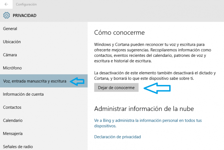 Imagen - Desactivar Cortana en Windows 10