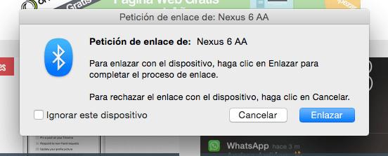 Imagen - Cómo enviar y recibir ficheros por Bluetooth en Mac
