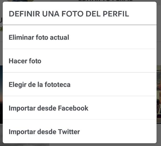 Imagen - Cómo cambiar la foto de perfil en Instagram