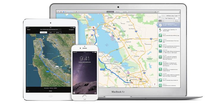Cómo enviar una ruta al iPhone desde Mac