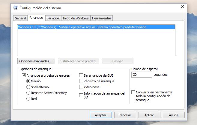 Imagen - Cómo iniciar en modo seguro en Windows 10
