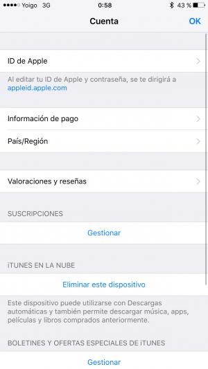 Imagen - Cómo cancelar la suscripción a Netflix desde iTunes en iOS