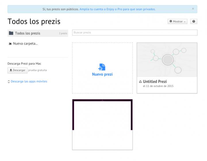 Imagen - Cómo crear una presentación en Prezi online
