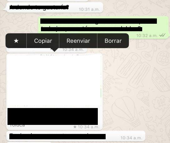 Imagen - Cómo destacar mensajes en WhatsApp