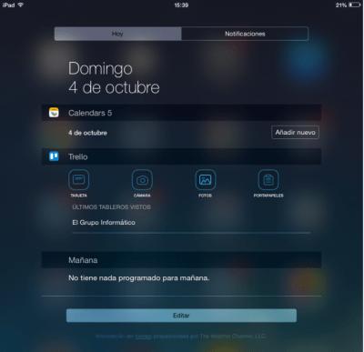 Imagen - Cómo añadir widgets en iOS
