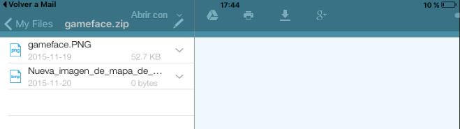 Imagen - Cómo abrir archivos comprimidos en iPad