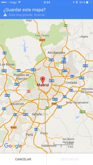 Imagen - Cómo usar mapas sin conexión de Google Maps en iOS