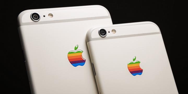 Personaliza tu iPhone 6s con estas pegatinas retro