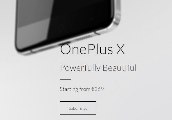 Imagen - Dónde comprar el OnePlus X en España