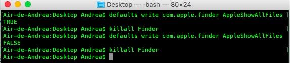 Imagen - Cómo ver archivos ocultos en Mac