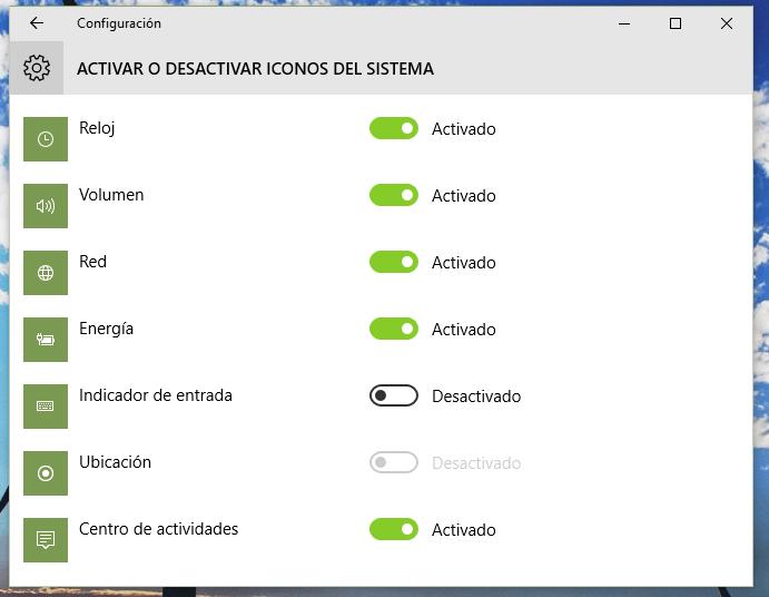 Imagen - Cómo personalizar el área de notificaciones de Windows 10