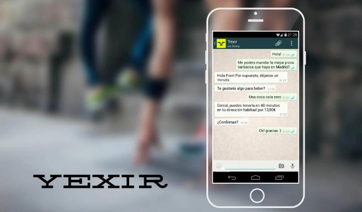 Imagen - Yexir, pide lo que quieras por WhatsApp