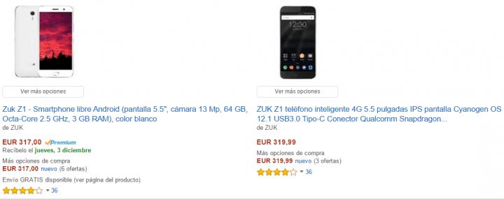 Imagen - Dónde comprar el ZUK Z1 en España