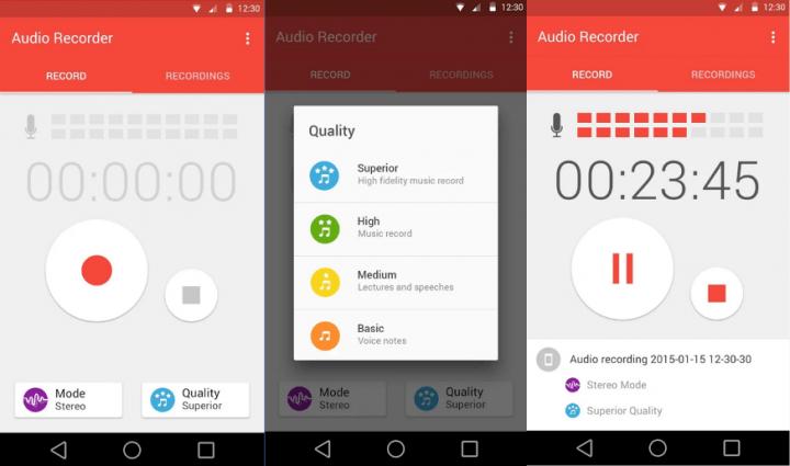Imagen - 5 grabadoras de voz para Android