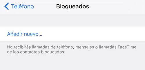 Imagen - Cómo bloquear un contacto en iOS