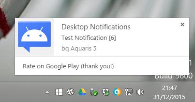 Imagen - Cómo ver las notificaciones de Android en Windows
