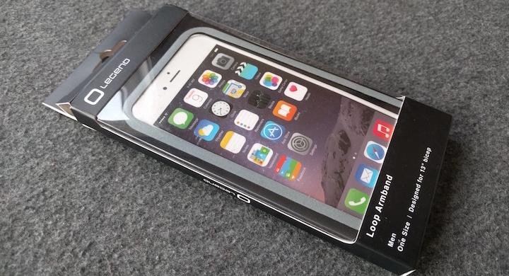 Review: funda de deporte Legend Loop para iPhone 6s